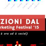 3 lezioni dal Web Marketing Festival '15