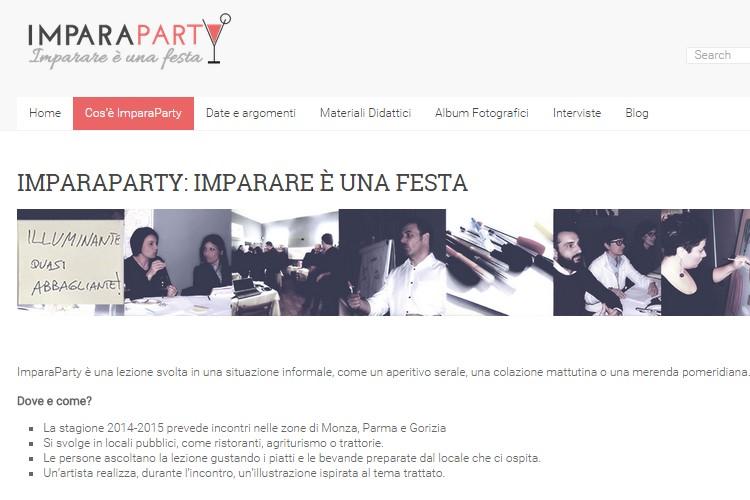 Progetto ImparaParty
