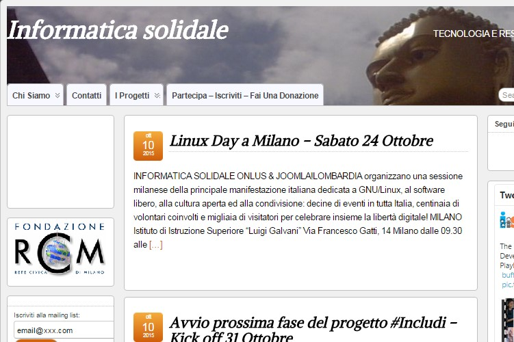 Progetto Infomratica Solidale