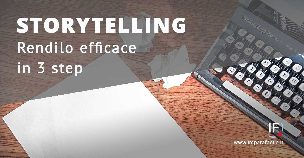 storytelling efficace in 3 mosse