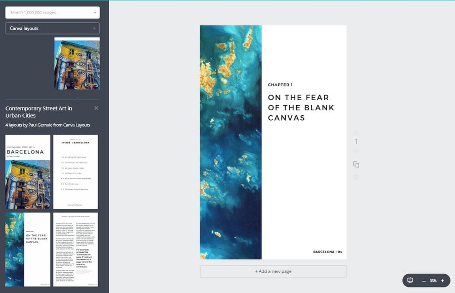 Canva E-Book