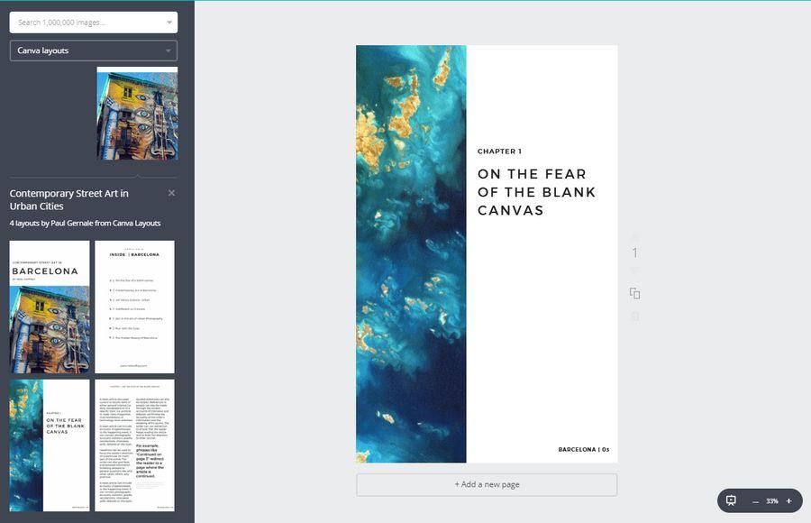 Canva E-Book