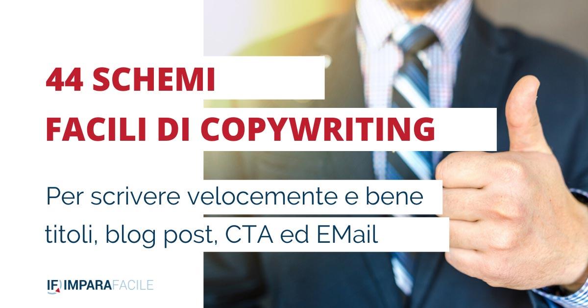 44 Formule di copywriting scrivere per il web