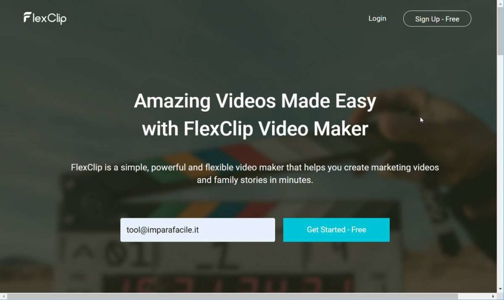 video editor Flexclip