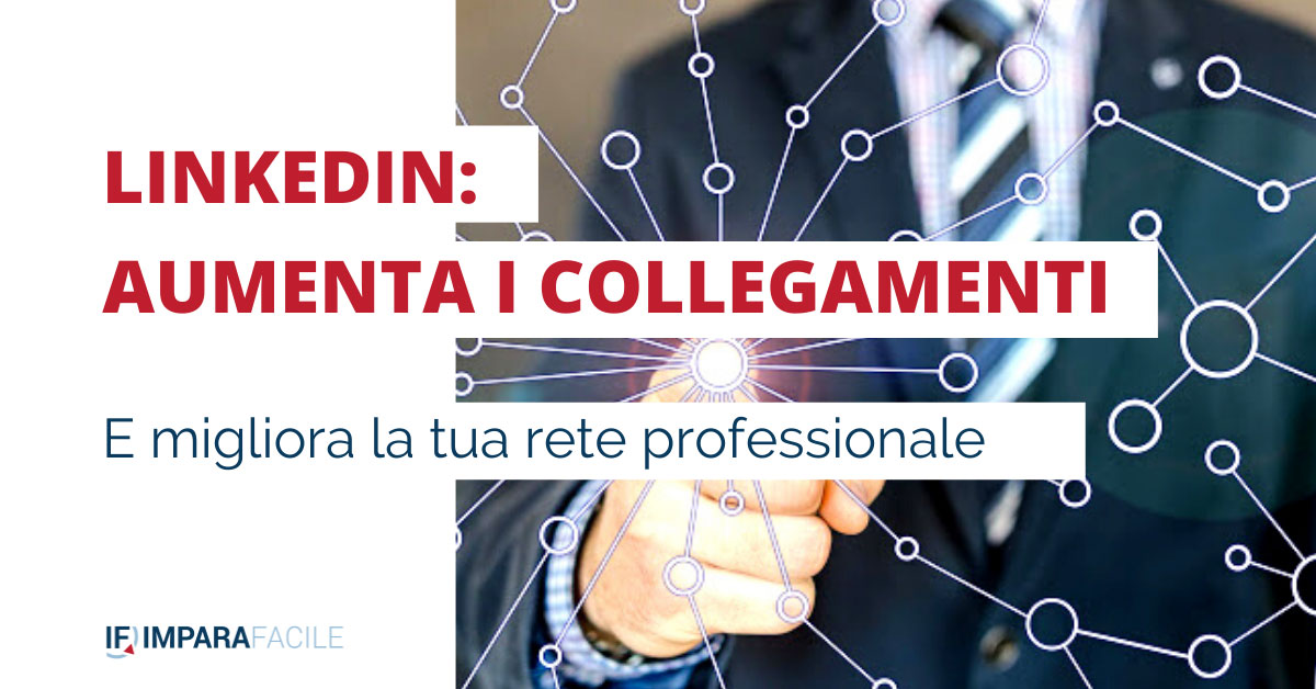 Copertina Linkedin: aumenta i collegamenti