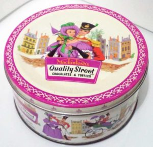 visual hammer packaging quality street